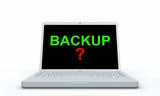 Notebook Konzept - Backup? poster