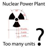 vector dimensionally precise radiation symbol poster