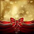 Elegant christmas bow