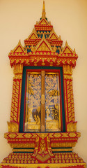 Windows of the church.