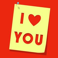 """Love you"""