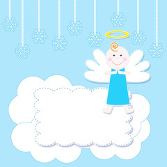Christmas baby angel