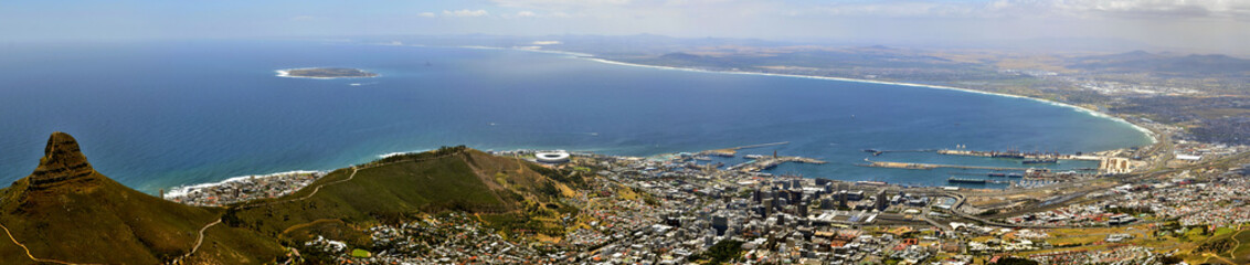 Capetown Downtown Panorama