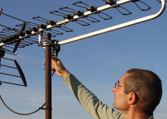 réglage antenne TNT