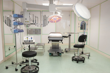 empty operation room