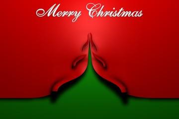 Abstrakte Weihnachtskarte