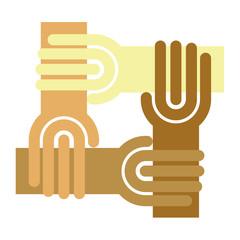 circlr of hand, chain