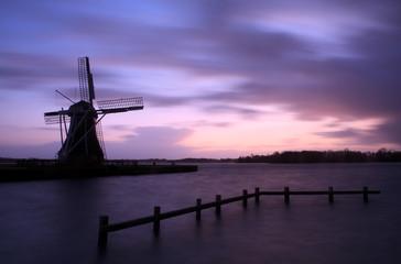 Windmill & storm