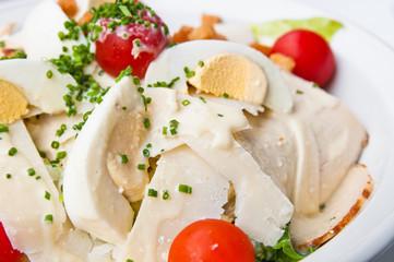 Fresh chicken salad
