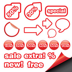 set with sale icon