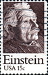 Einstein. USA 15c. US Postage.