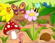 small animals cartoon