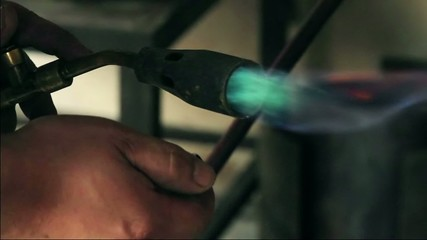 lighting blowtorch