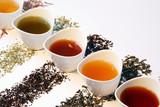 Verschiedene Teesorten
