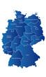 Deutschland Bundesländer Karte