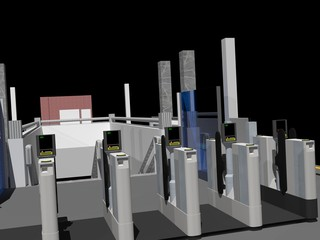 Automatic Ticket Gates