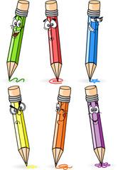 Карандаши мультфильм школы