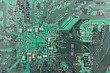 Modern printed-circuit board macro background
