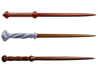 Selection of wizard wands