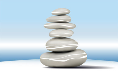 Stones stability Zen background