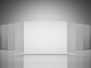 Gallery empty squares