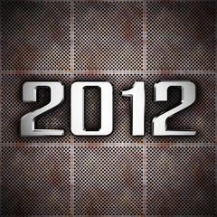 New year 2012 background
