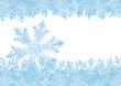 Eiskristall, Hintergrund, gefrorenes Wasser, Eis, Kristall, xmas