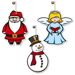 Christmas hangtags