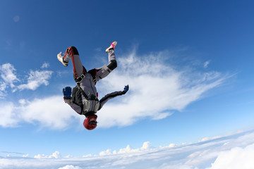Skydiving photo