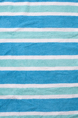 Used Beach Towel Background