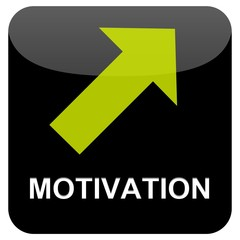 Button schwarz - Motivation