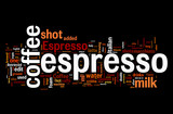 Fototapety Espresso Coffee Elements