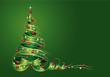 Weihnachtsbaum aus Geschenkschleife