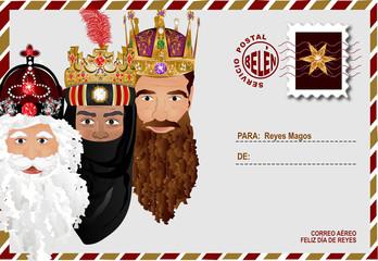 Carta a Reyes Magos