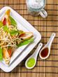 thailändisch schaf gebratenes Hähnchenbrustfilet