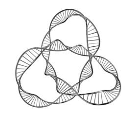 Illustration of a dna