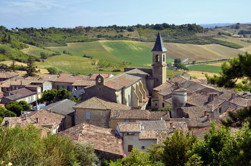Village of Lautrec in France