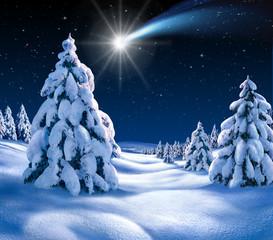 Weihnachtslandschaft 2