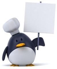 Pingouin chef