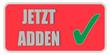 CB-Sticker rot eckig oc JETZT ADDEN