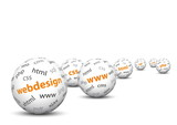 Webdesign, 3D, Kugel, WWW, HTML, Internet, Konzept, Business