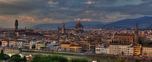 Firenze Panorama hdr - Toscana -