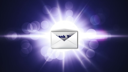Thank You Email Concept - HD1080