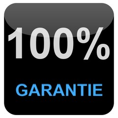 Button - 100% Garantie