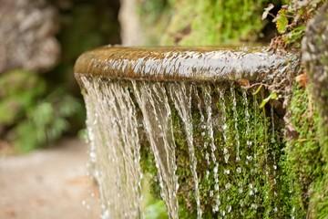Brunnen Wasserlauf Wasserfall