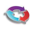Circular Process Flow - Three Arrows