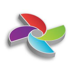 Pinwheel Graphic