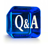 Blue Questions and Answers Icon