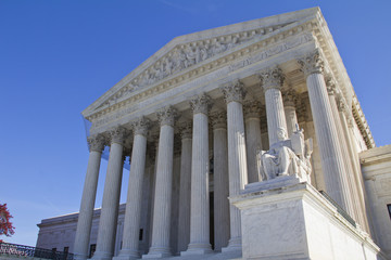 US Supreme Court in Washington, DC.