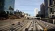 Sunday Traffic  in downtown LA
